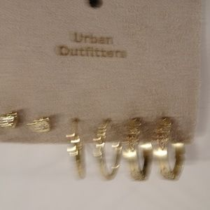 Urban Outfitters 3 earrings Set NWT 45